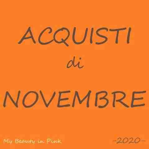Acquisti di Novembre