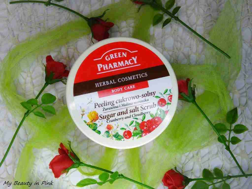Scrub corpo mirtillo rosso e lampone Green Pharmacy
