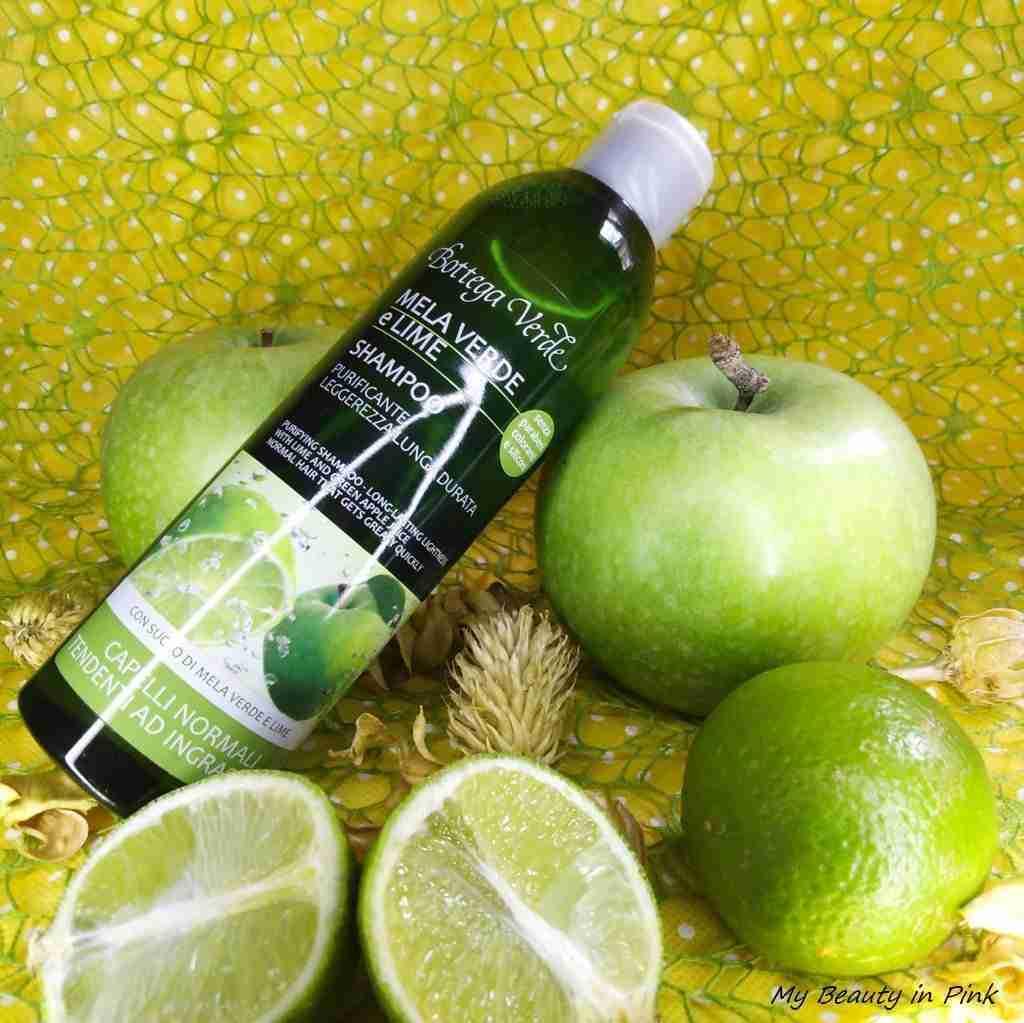 Shampoo mela verde e lime Bottega Verde