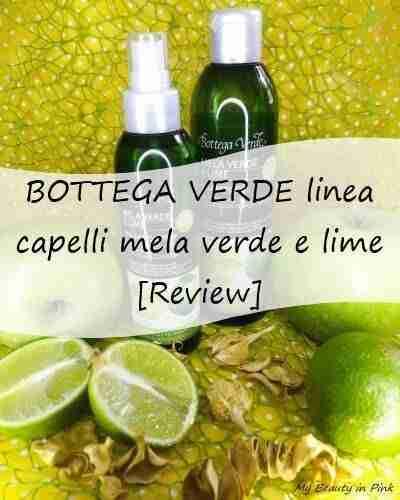 Bottega Verde linea Mela Verde e lime