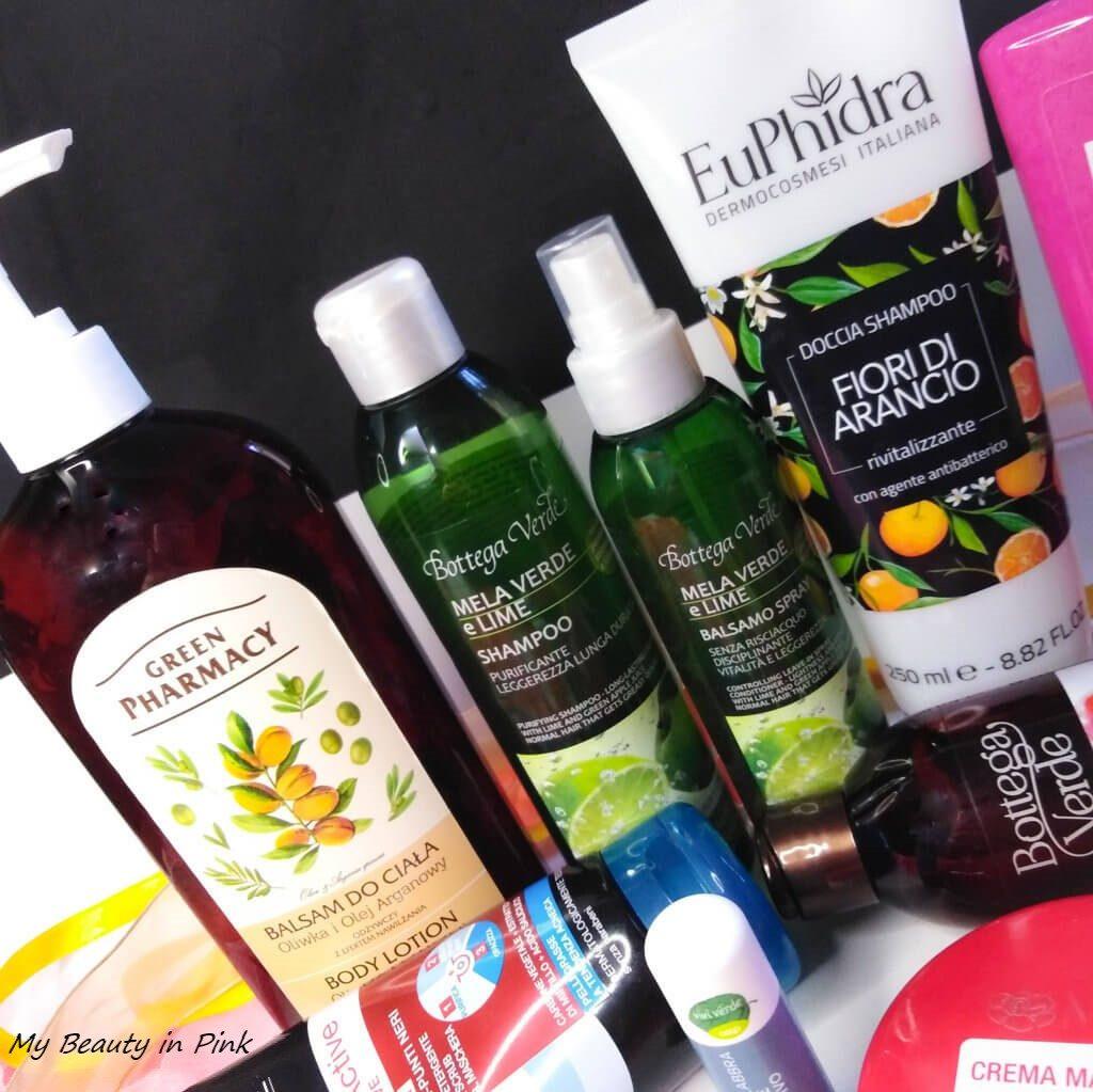 Prodotti terminati - Lozione corpo Green Pharmacy, linea capelli Bottega Verde
